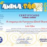 Anima-São 2014 - Certificado